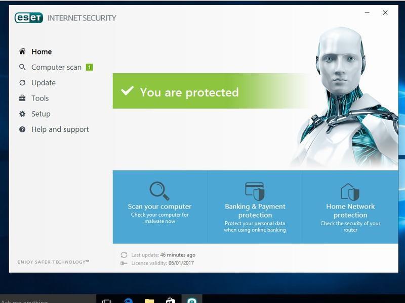 آنتی ویروس نود32 ESET Internet Security 10