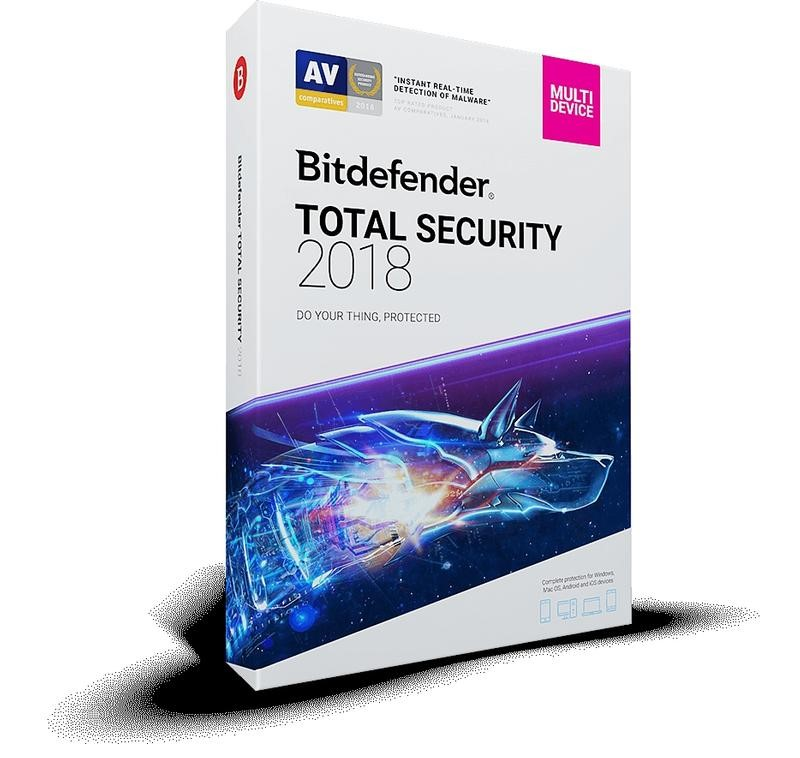 آنتی ویروس بیتدیفندر Bitdefender Total Security 2018