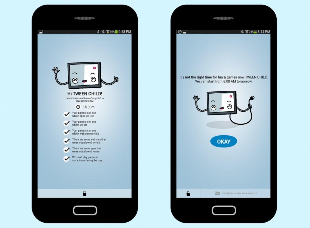 اپلیکیشن نظارت بر کودک ESET