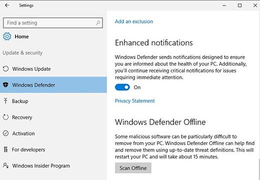 Windows Defender Offline  چیست؟