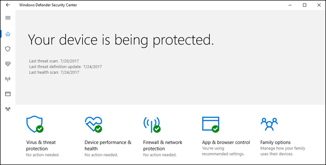 آیا آنتی ویروس  Windows Defender برای ویندوز 10 کافی است؟